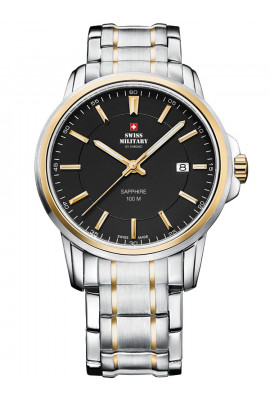 Swiss Military SM34039.04 Herren Saphirglas 40mm 10ATM