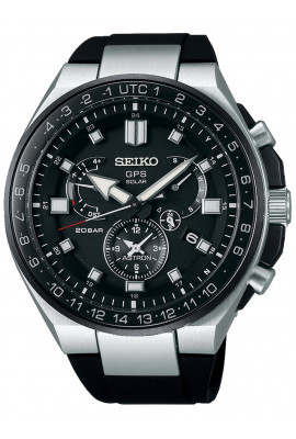 Seiko SSE169J1 Astron GPS Solar Executive Sports m. Wechselarmb. 46mm 20ATM