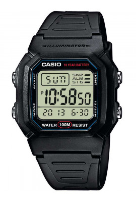 CASIO W-800H-1AVES Collection 37mm 10ATM