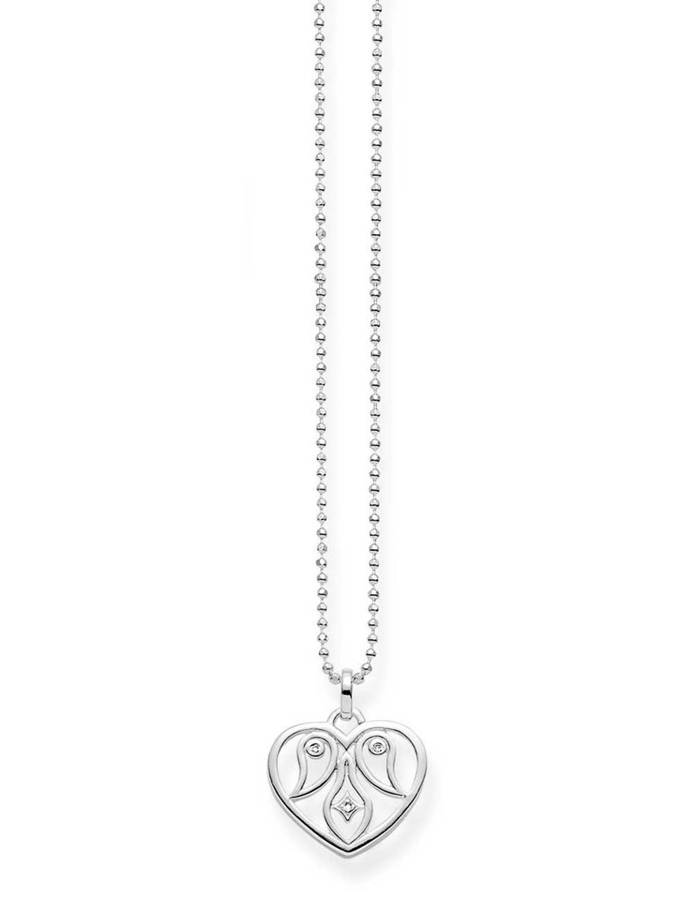 Thomas Sabo Halskette KE0018-725-21 925er mit Anhänger Herz 40-45cm