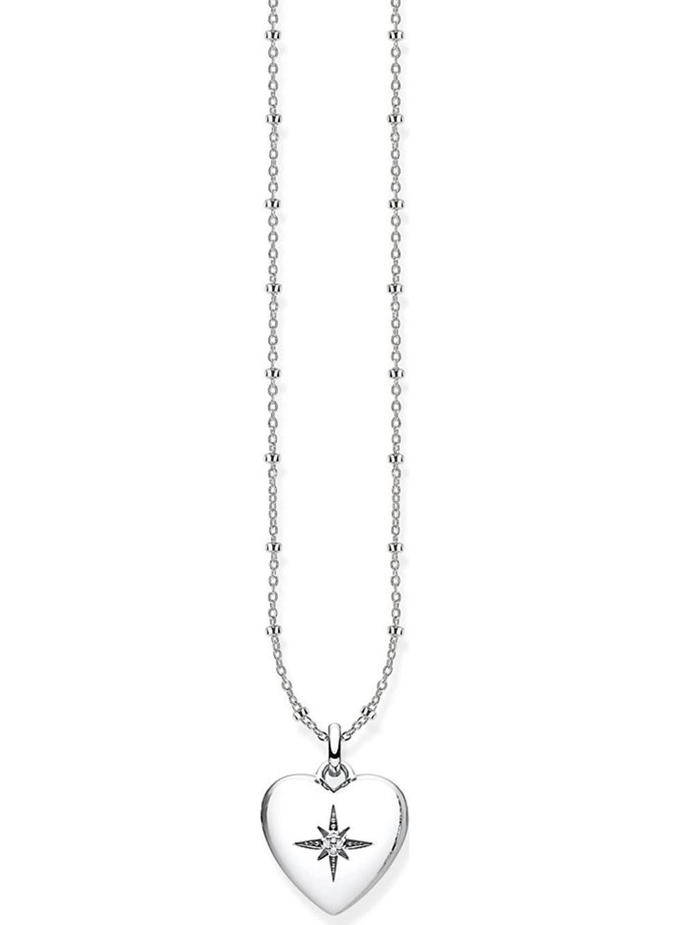 Thomas Sabo Halskette D_KE0035-356-14-L45v 40-45cm m. Anhänger Herzmedaillon