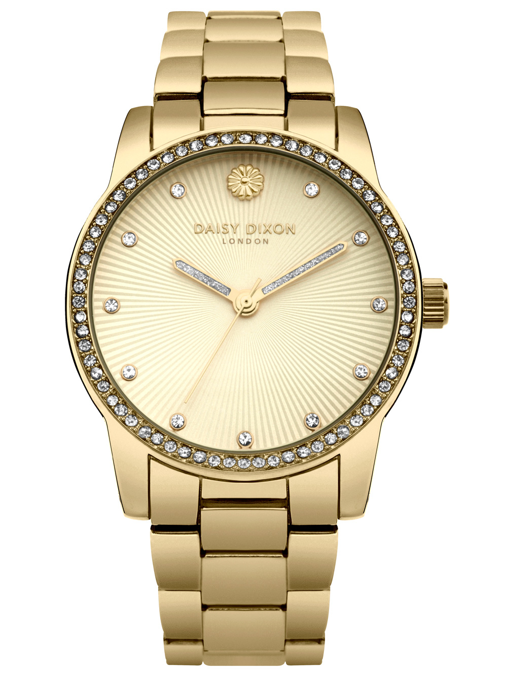 Uhren - Daisy Dixon DD089GM Adriana Glitz Damen 38mm 3ATM  - Onlineshop Timeshop24