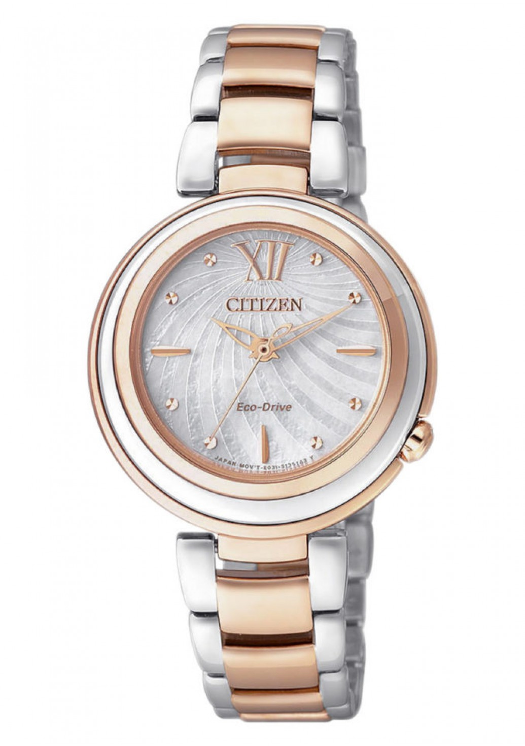 Citizen EM0335-51D Eco-Drive Elegant Damen 30mm 5ATM