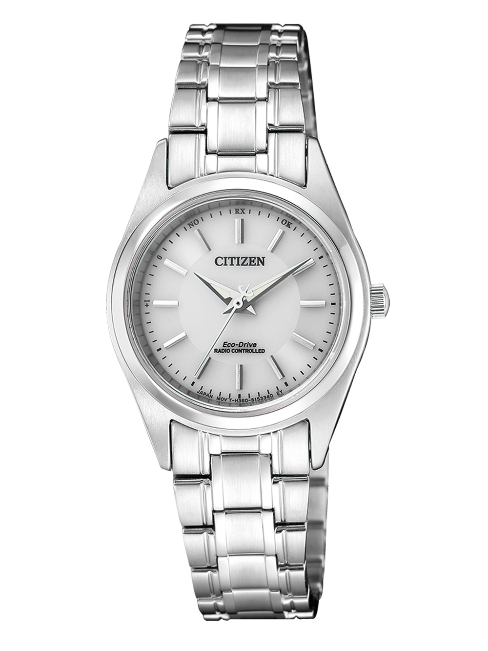 Citizen ES4030 84A Eco Drive Damen Funkuhr 27mm 10ATM