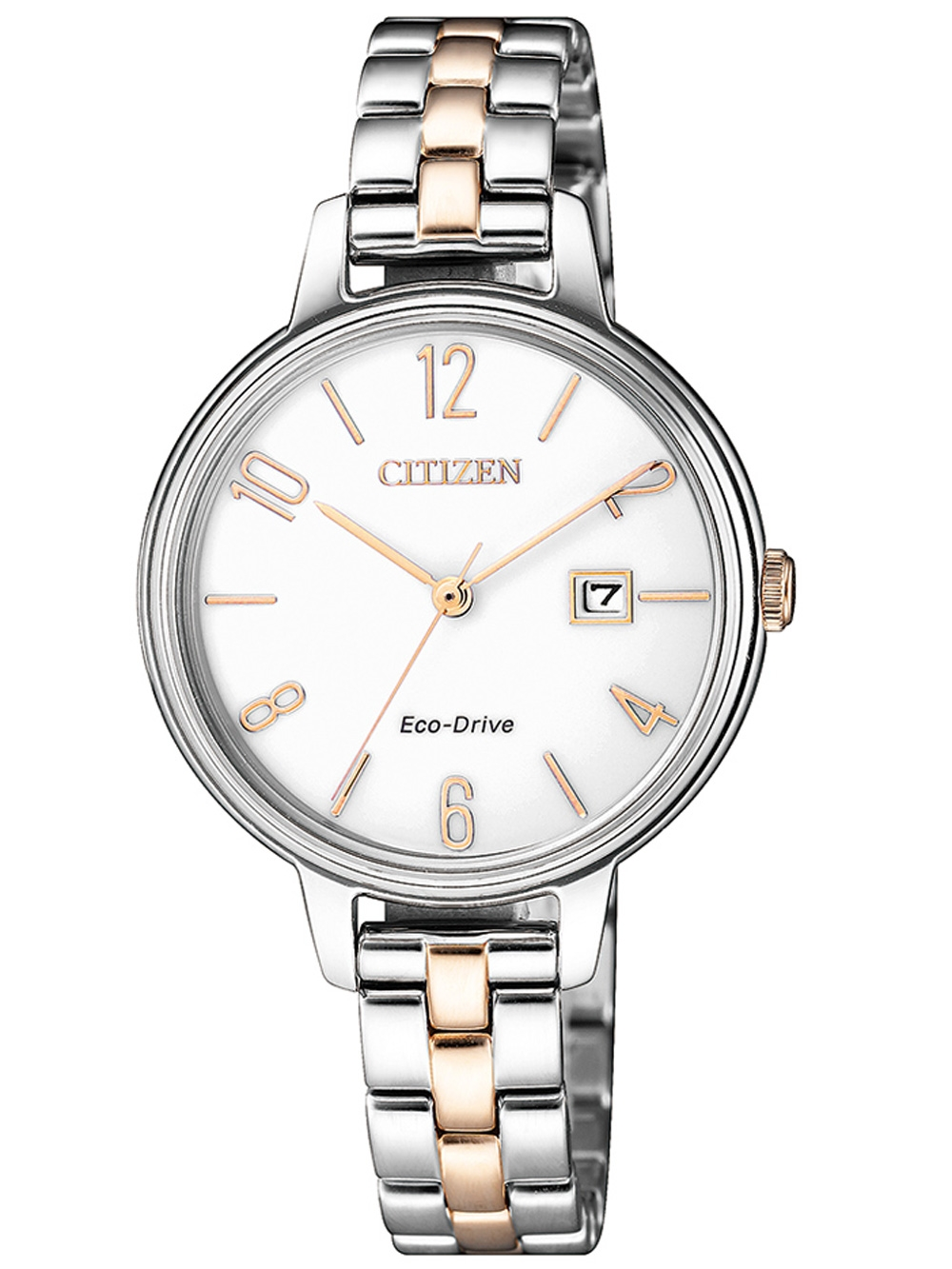 Citizen EW2446 81A Eco Drive Damenuhr 31mm 5ATM