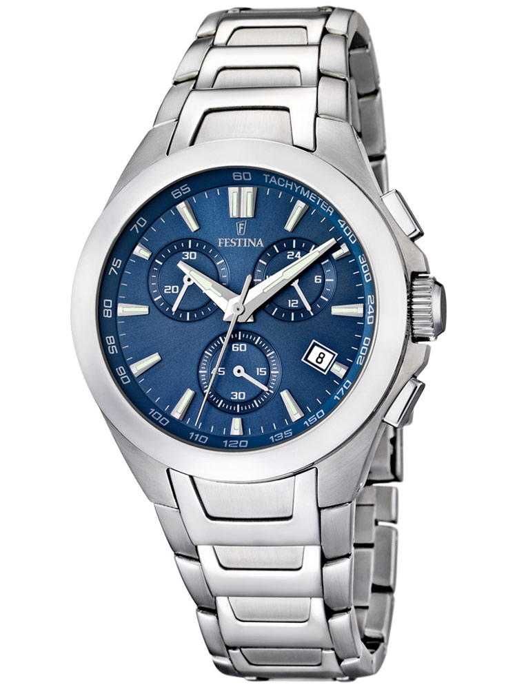 Sport F16678/2 Chronograph blau 42 mm