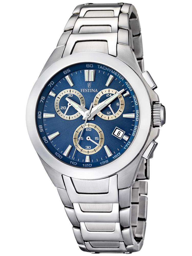 Sport F16678/5 Chronograph blau 42 mm