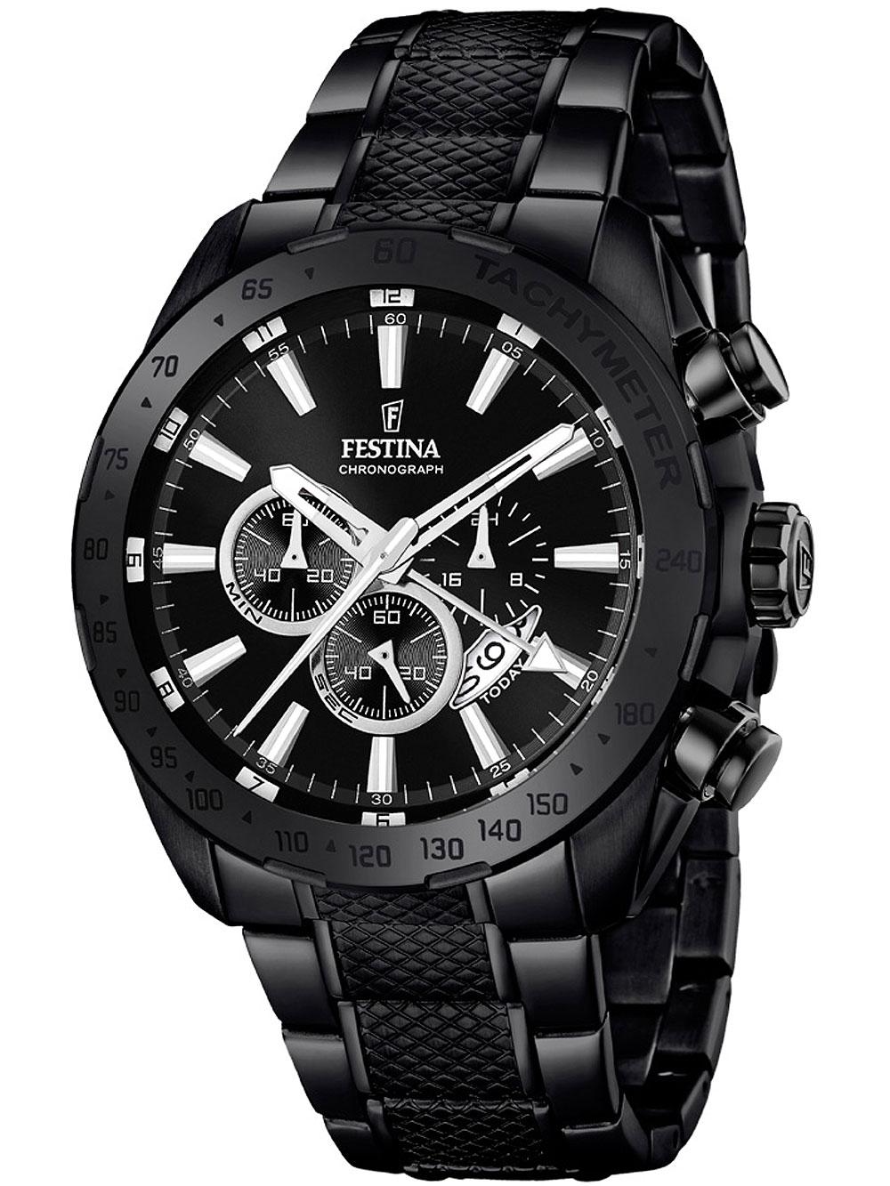 Festina F16889/1 Dual-Time Chronograph 44mm 10ATM