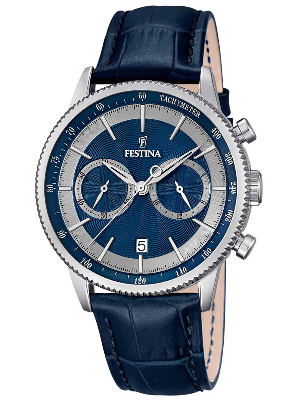 Festina F16893 6 Chronograph Herren 41mm 5ATM