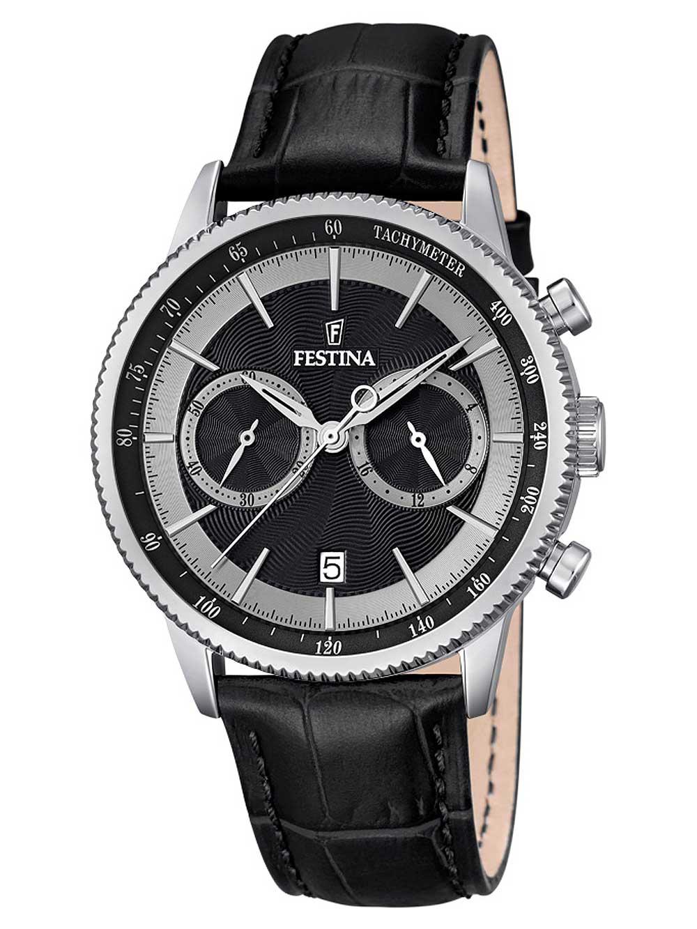 Festina F16893 8 Chronograph Herren 41mm 5ATM