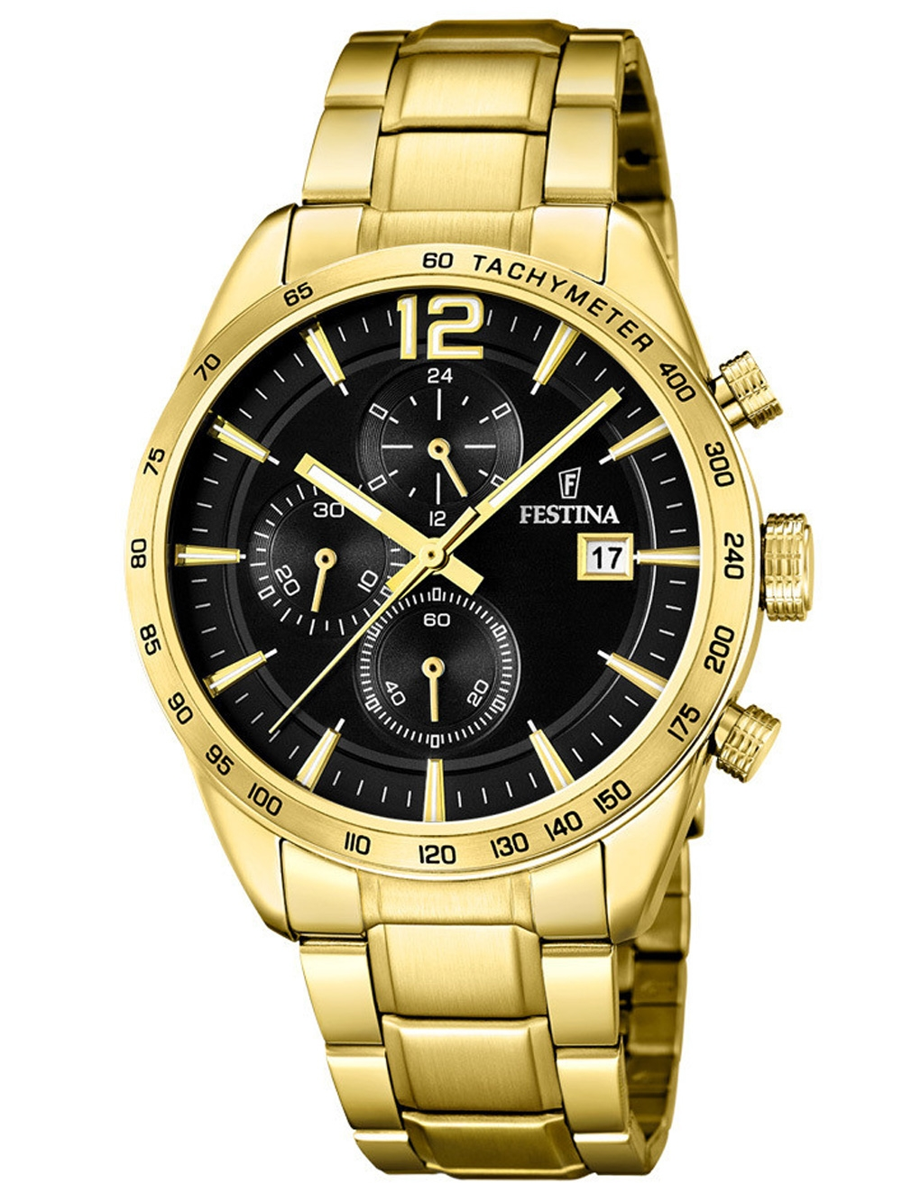 F20266/3 Trend Chronograph 44mm 5ATM