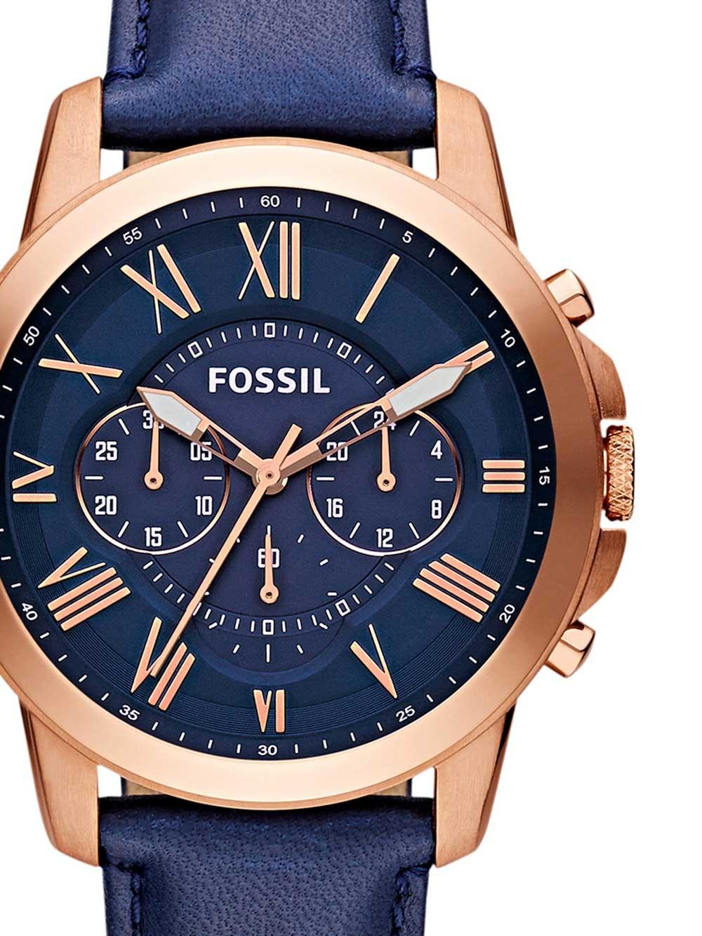 Fossil FS4835 Grant Herren Chronograph 44mm 5ATM