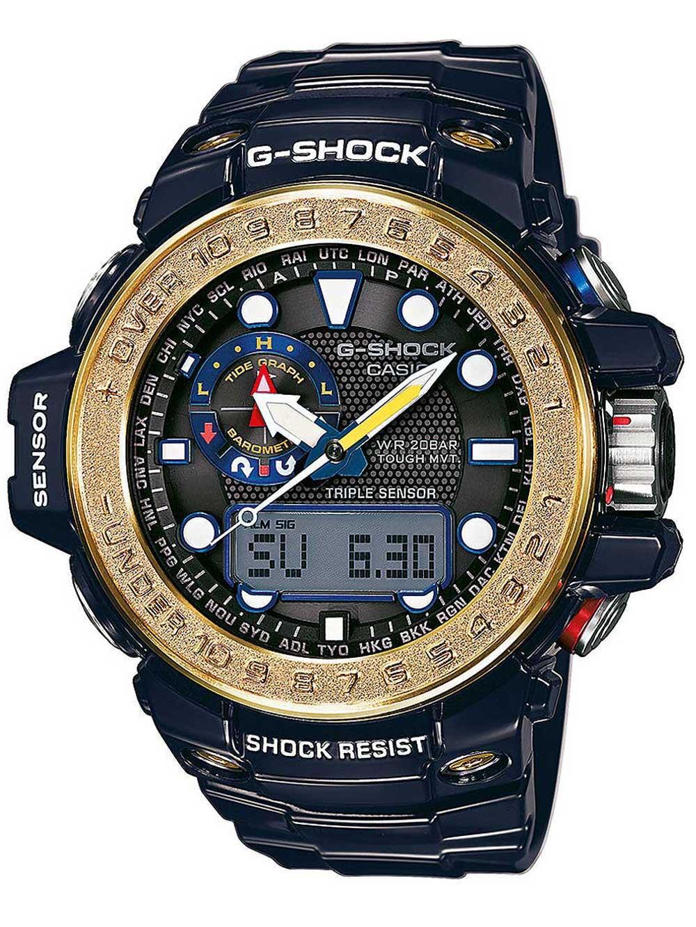 CASIO GWN-1000F-2AER G-SHOCK Funk-Solar 55mm 20ATM