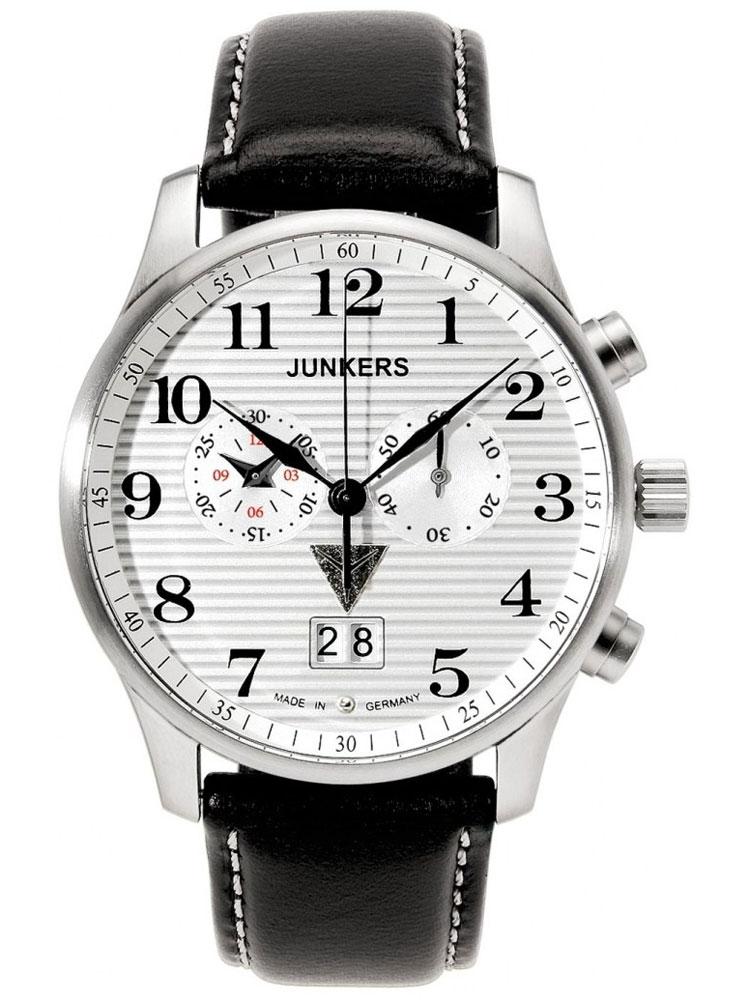 Junkers Lufthansa Ju 52 6686 1 Herrenuhr Chronograph