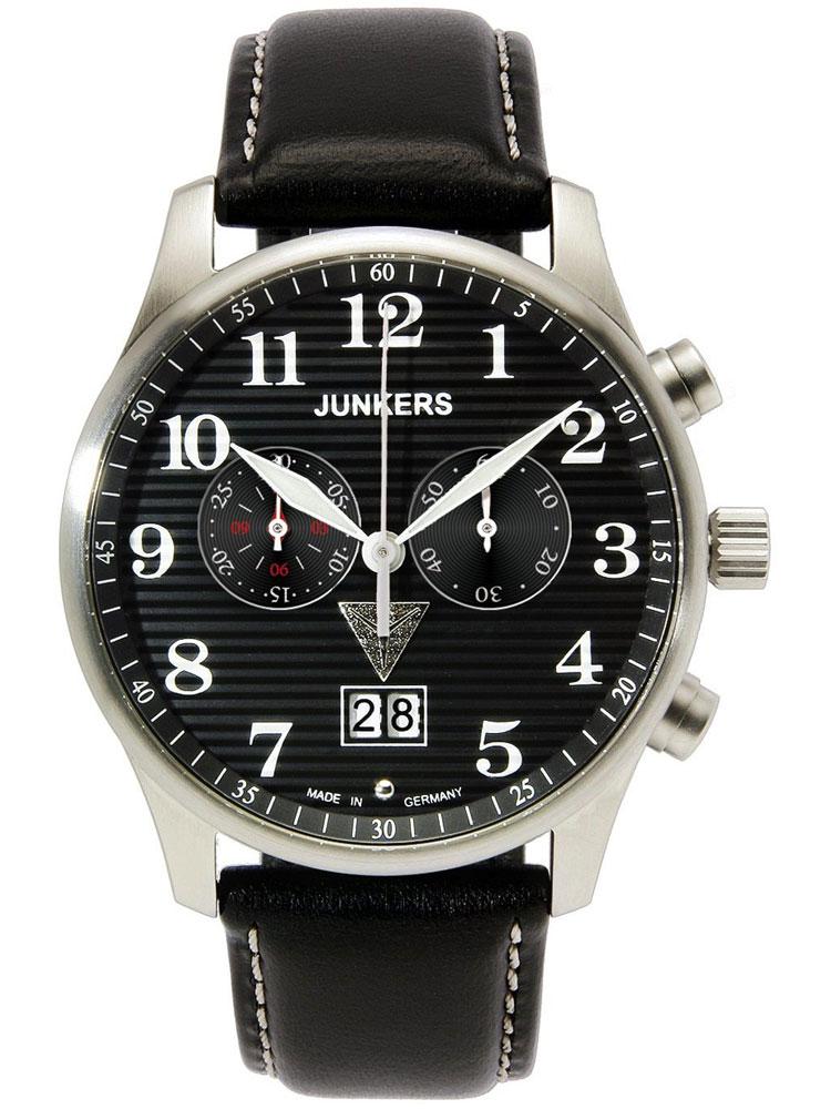 Junkers Lufthansa Ju 52 6686 2 Herrenuhr Chronograph