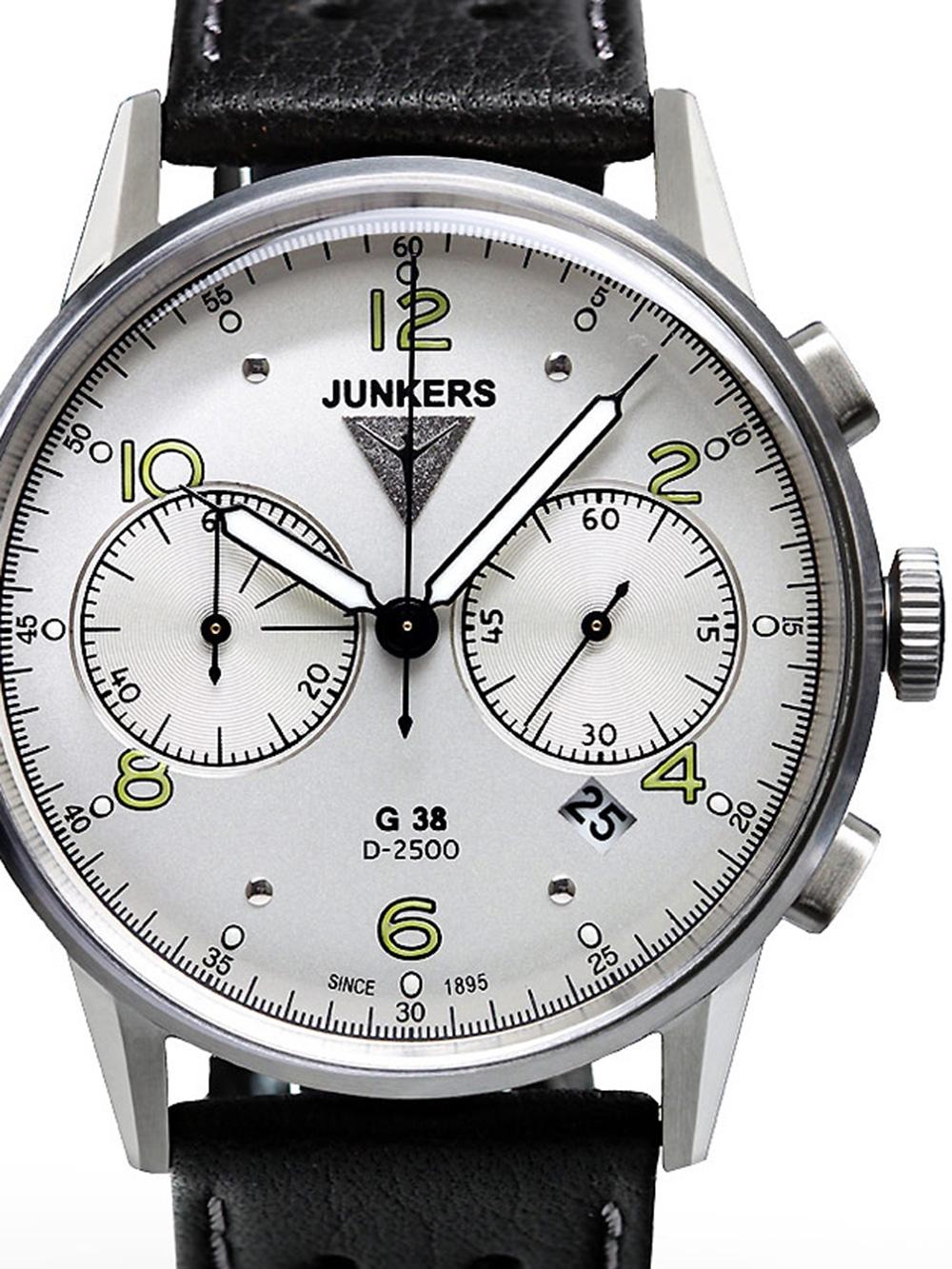 Junkers 6984 4 G38 Chronograph Herren 10 ATM 42 mm