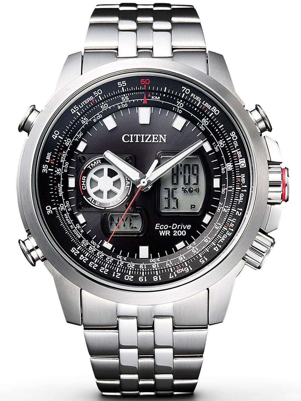 Citizen JZ1060-50E Eco-Drive Promaster-Sky GMT 46mm 200M
