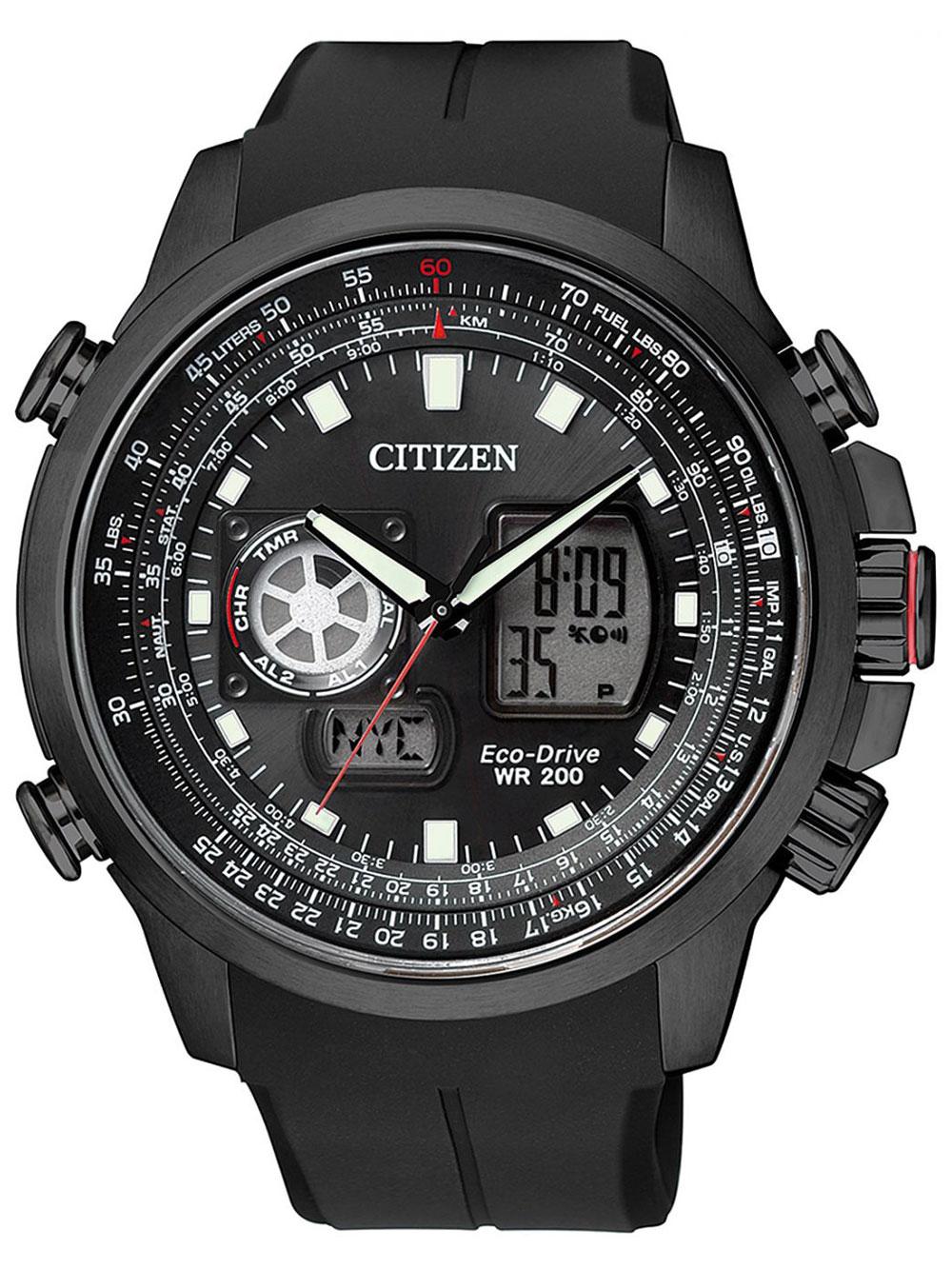 Citizen JZ1065-05E Eco-Drive Promaster-Sky Ana-Digi 46mm 200M