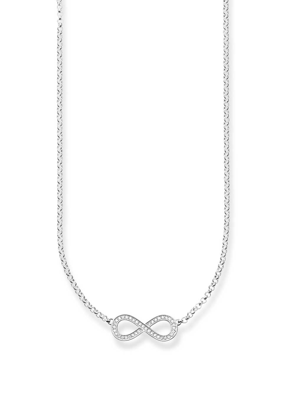 Thomas Sabo Halskette KE1312-051-14 925er mit Anhänger Infinity 38-42cm
