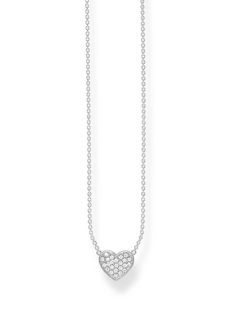 Thomas Sabo Halskette KE1547-051-14 925er mit Anhänger Herz 40-45cm