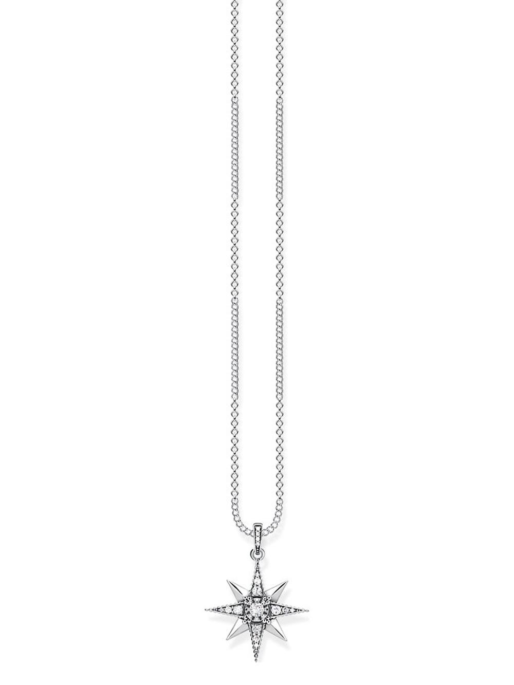 Thomas Sabo Halskette KE1825-643-14-L45v 40-45cm m. Anhänger Royalty Stern
