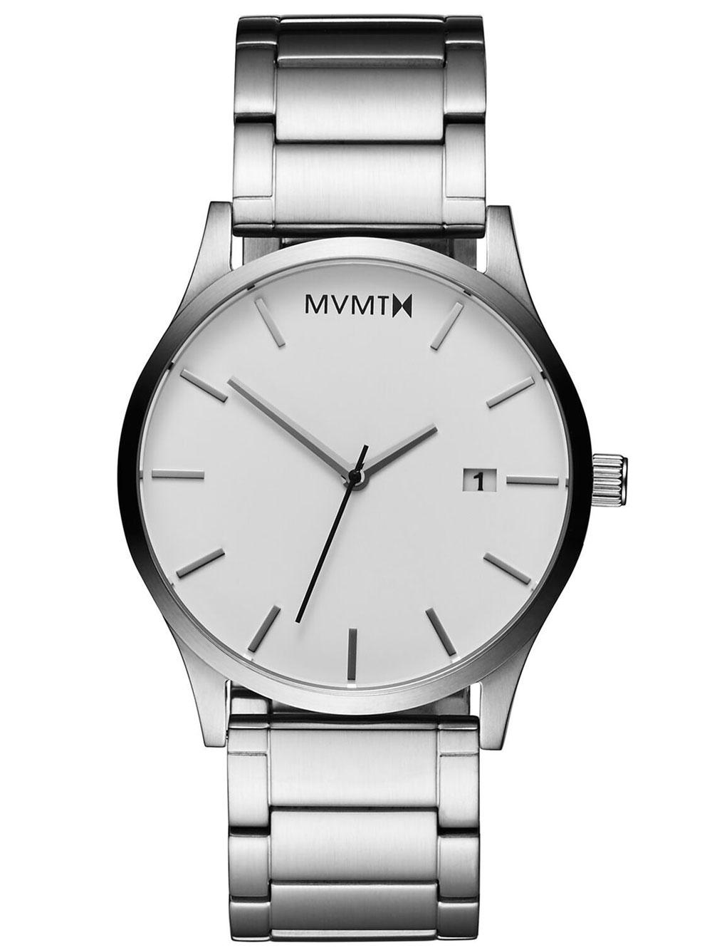 MVMT L213.1B.131 Classic White Silver 45mm 3ATM