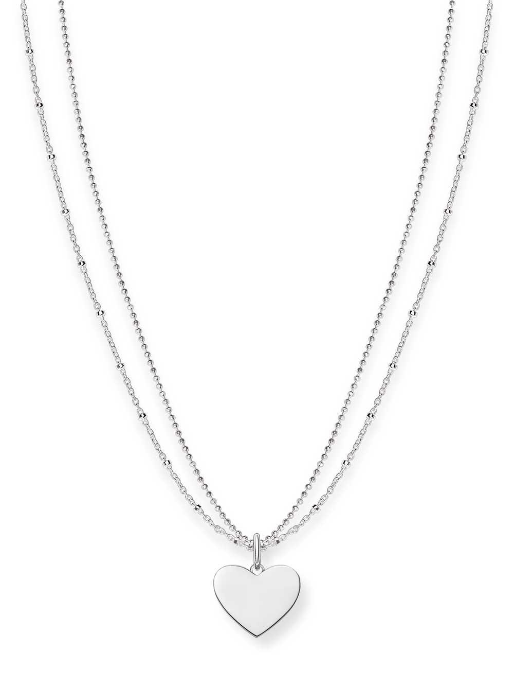 Thomas Sabo Halskette LBKE0004-001-12 925er mit Anhänger Herz 40-45cm