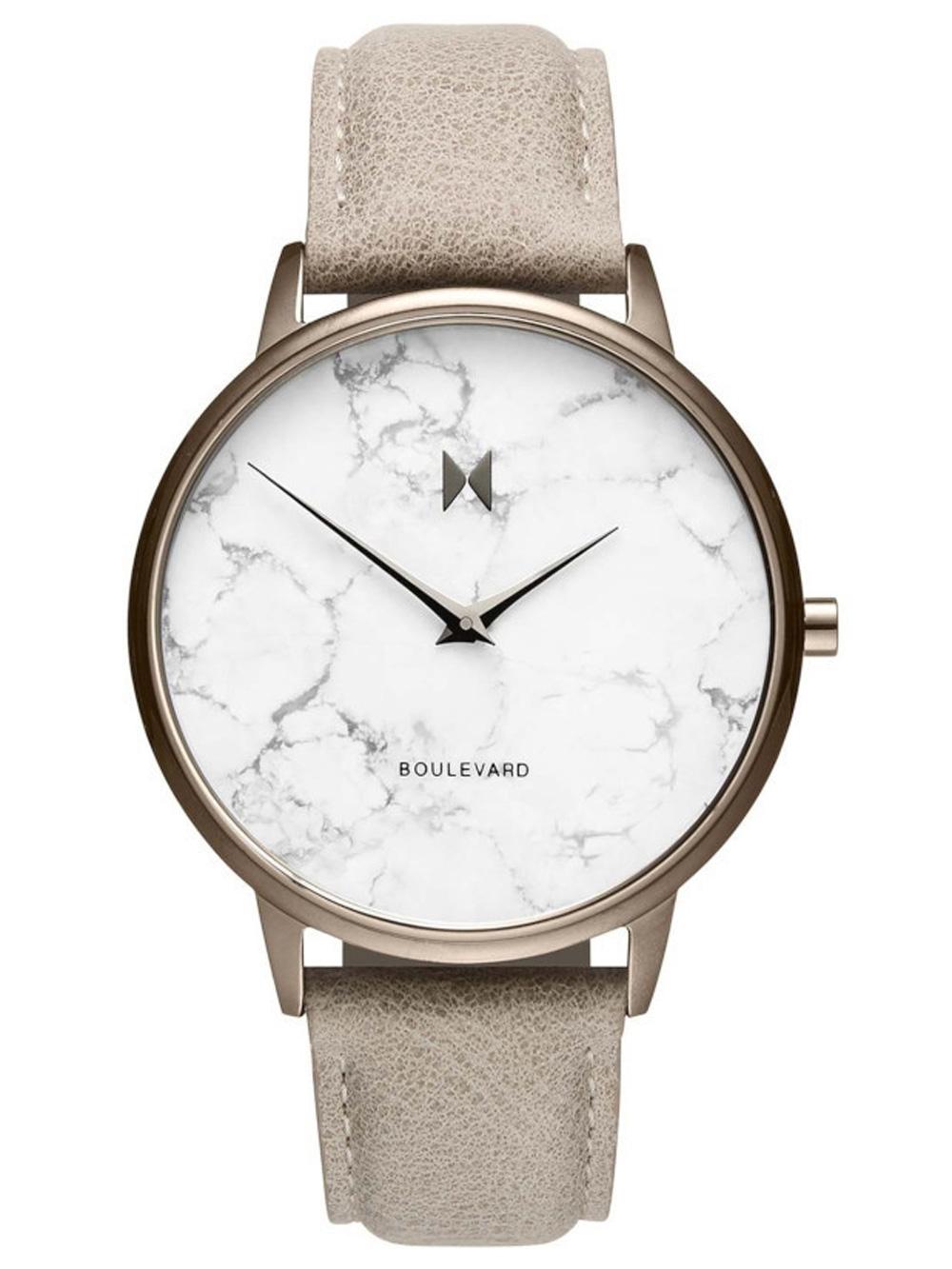 Uhren - MVMT MB01 TIMA Boulevard Crescent Marble Damen 38mm 3ATM  - Onlineshop Timeshop24