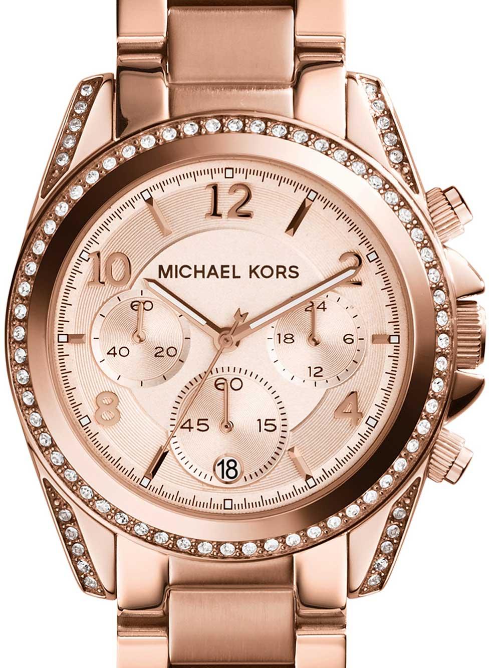 Michael Kors MK5263 Blair Chronograph Damen 39mm 10ATM