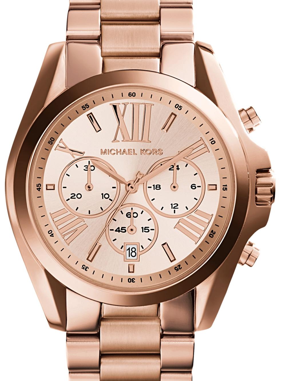 Michael Kors MK5503 Bradshaw Chronograph Damen 43mm 10ATM