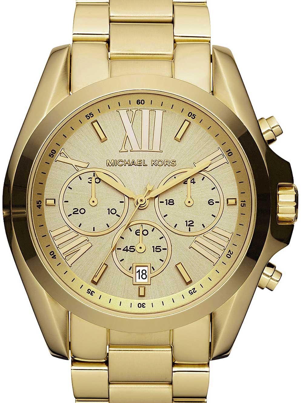 Michael Kors MK5605 Bradshaw Chronograph Damen 40mm 10ATM