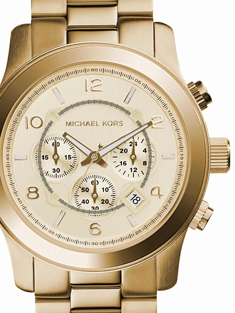 Michael Kors MK8077 Runway Chronograph Herren 45mm 10ATM bab9515793