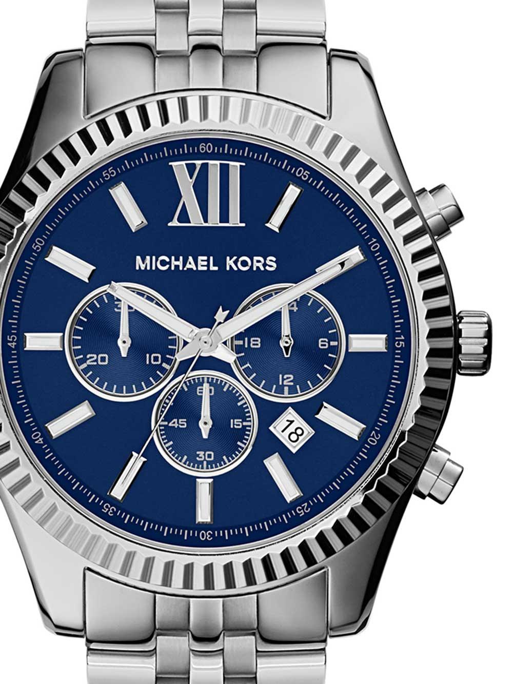 Michael Kors MK8280 Lexington Chronograph Herren 45mm 10ATM 737ac7102f