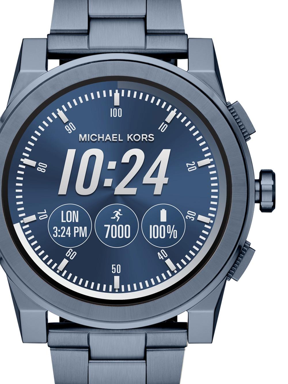 Michael Kors MKT5028 Grayson Access Smartwatch Herren 47mm 3ATM