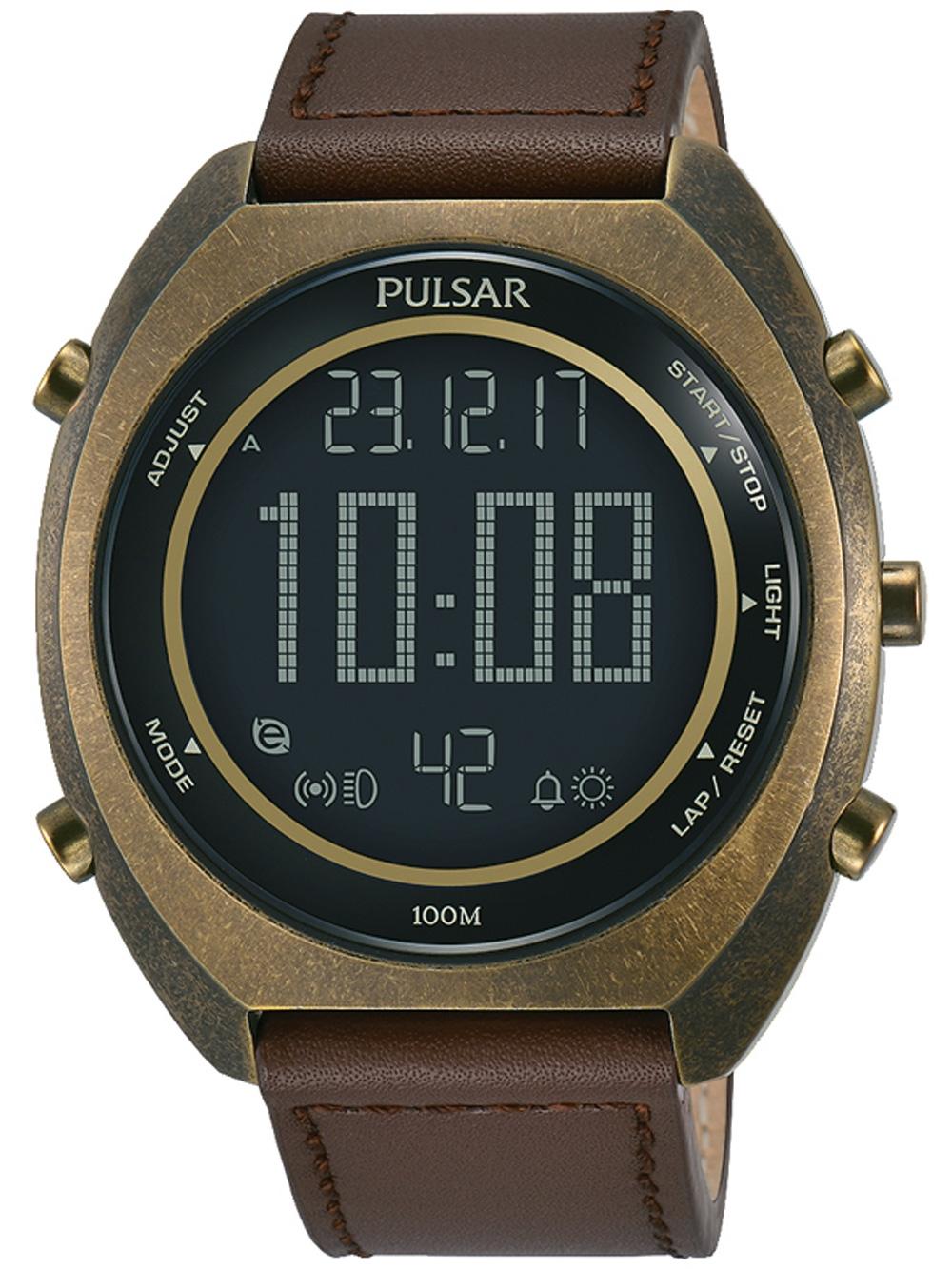 Pulsar P5A030X1 Chronograph 45mm 10ATM