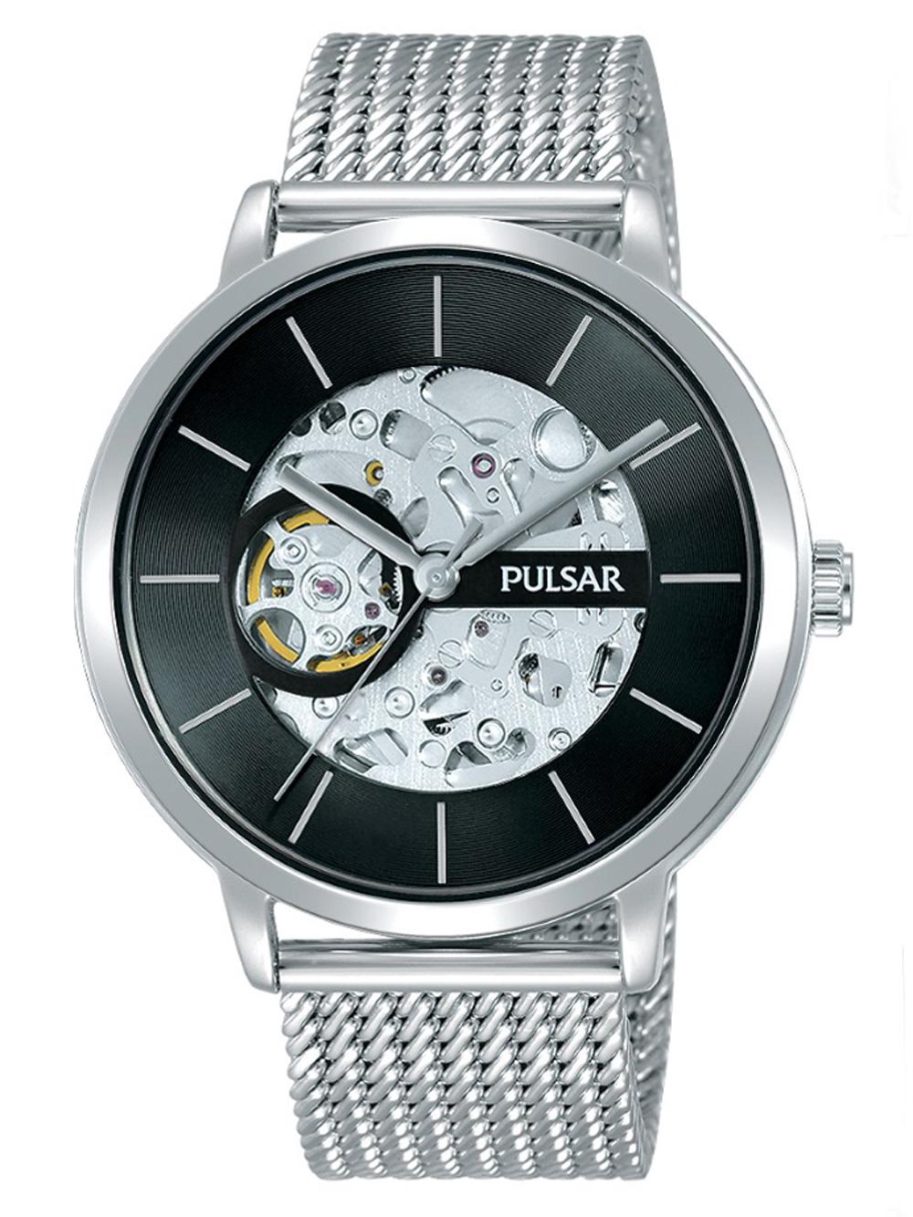 Pulsar P8A001X2 Automatic m. Wechselarmband Herren 42mm 5ATM