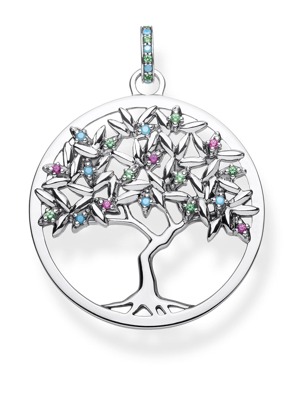 Thomas Sabo PE826-348-7 Charm Anhänger Tree of Love