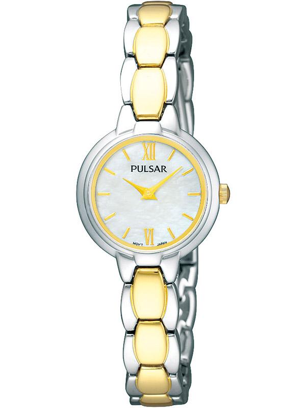 Pulsar PEGF95X1 Moderne Bicolor Damenuhr