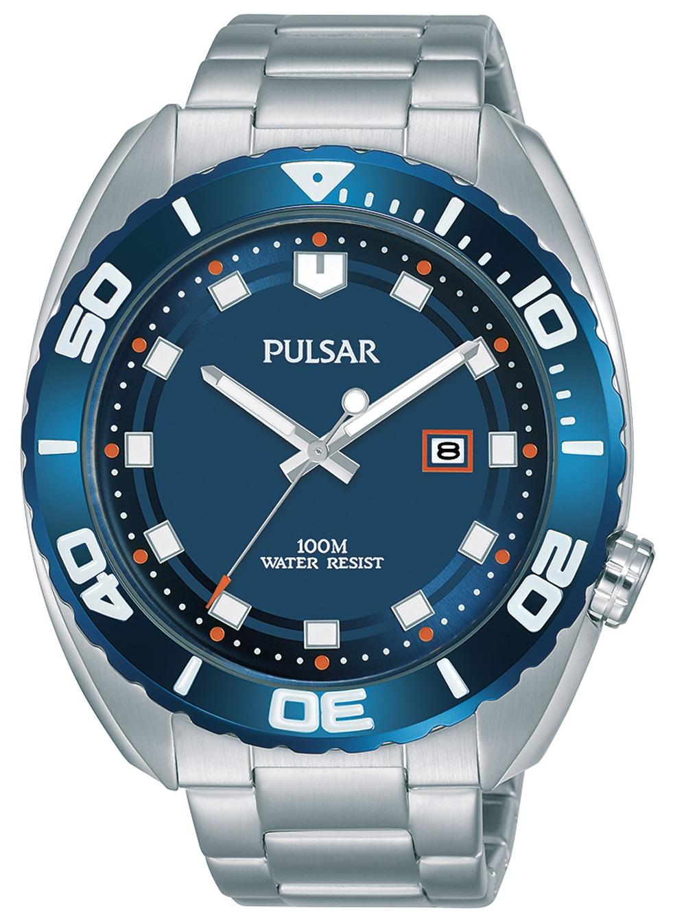 Pulsar PG8281X1 Klassik Herren 45mm 10ATM