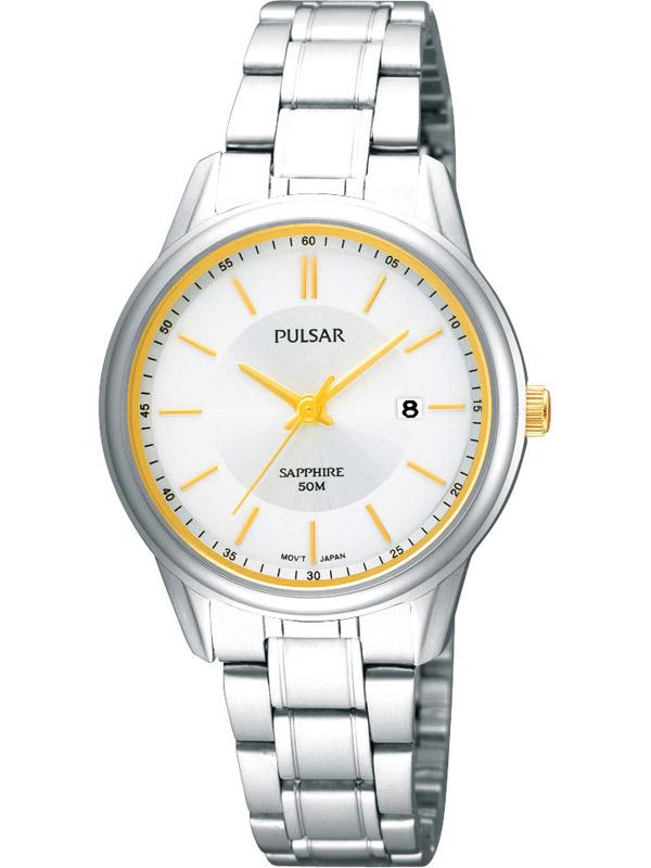 Pulsar PH7185X1 Klassische Damenuhr mit Stahlband