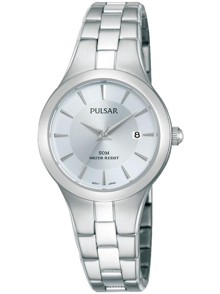 Pulsar PH7415X1 Damenuhr 50M silber 28mm