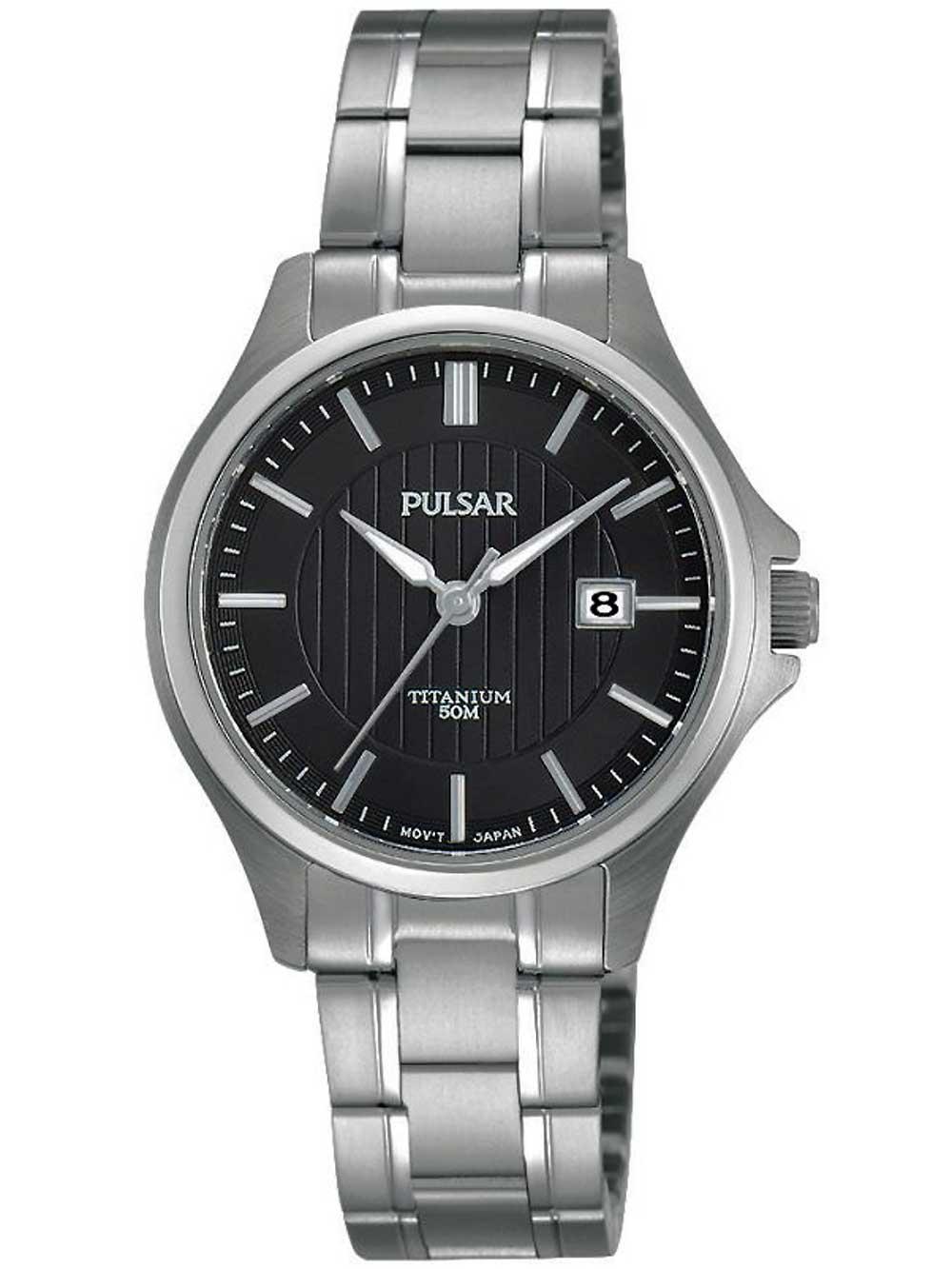 Pulsar PH7437X1 Damen Titanium 30mm 5ATM