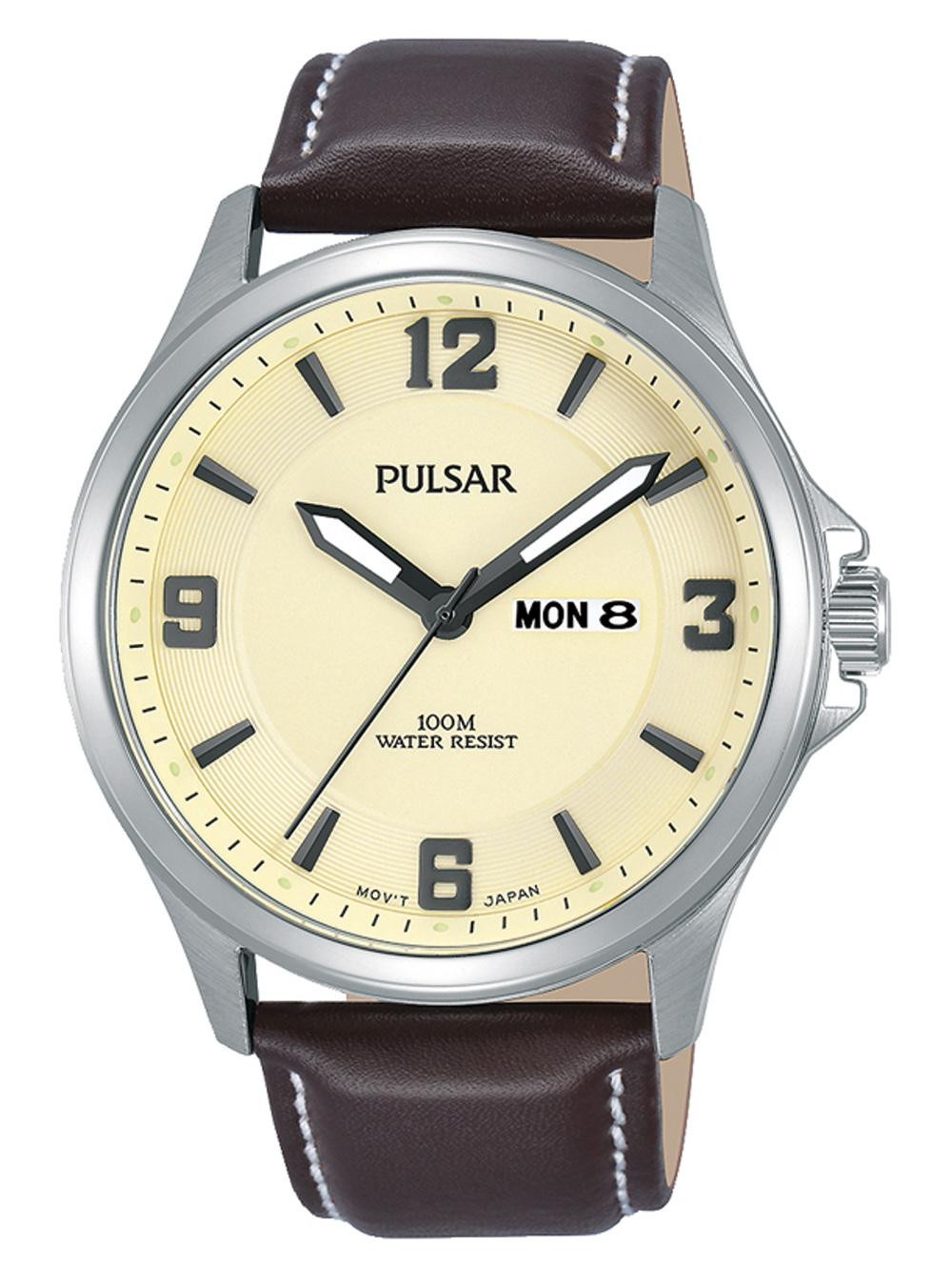 Pulsar PJ6085X1 Klassik Herren 42mm 10ATM