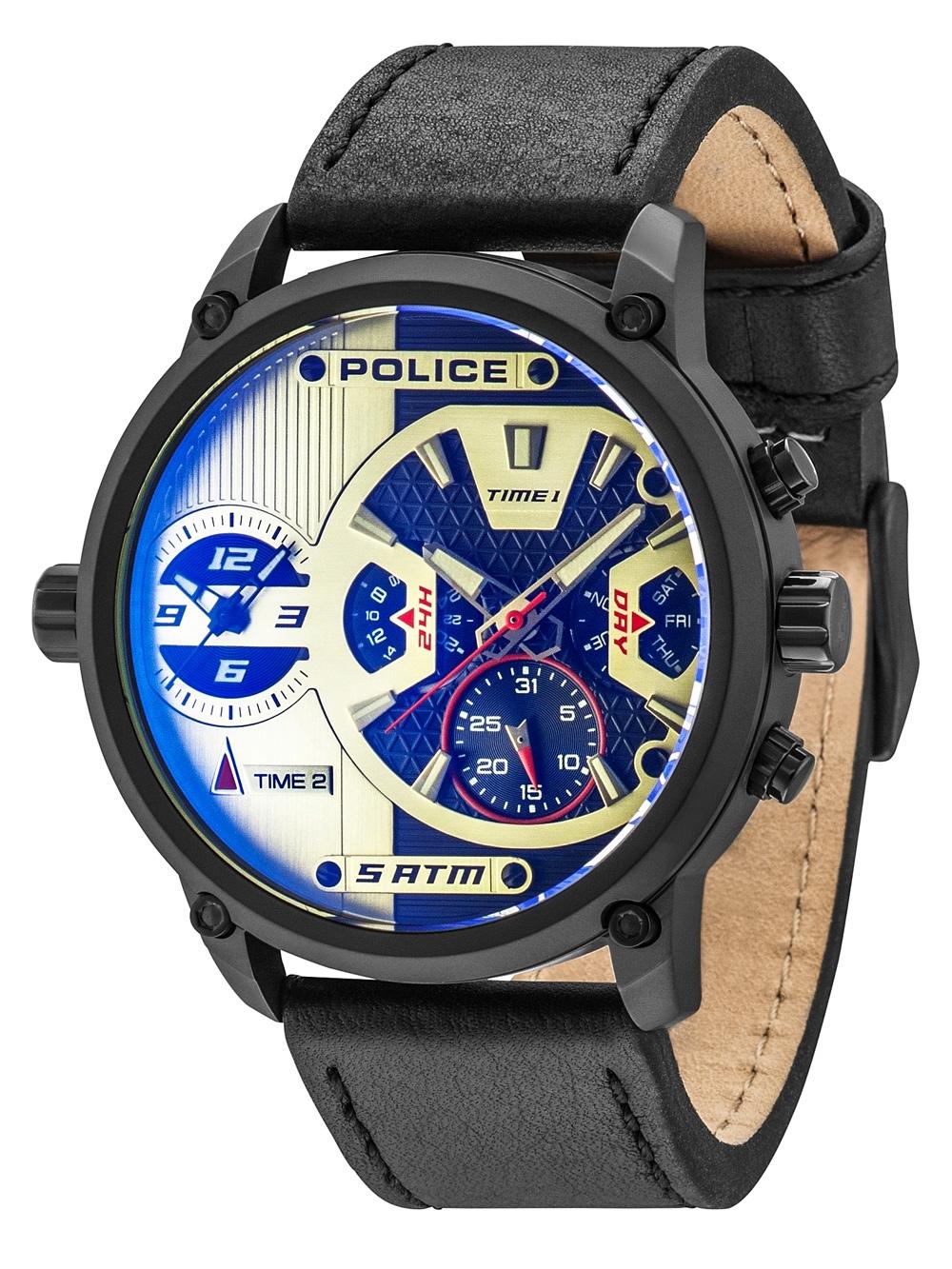 Police PL14833JSB/04 Taipan Herren 50mm 5ATM