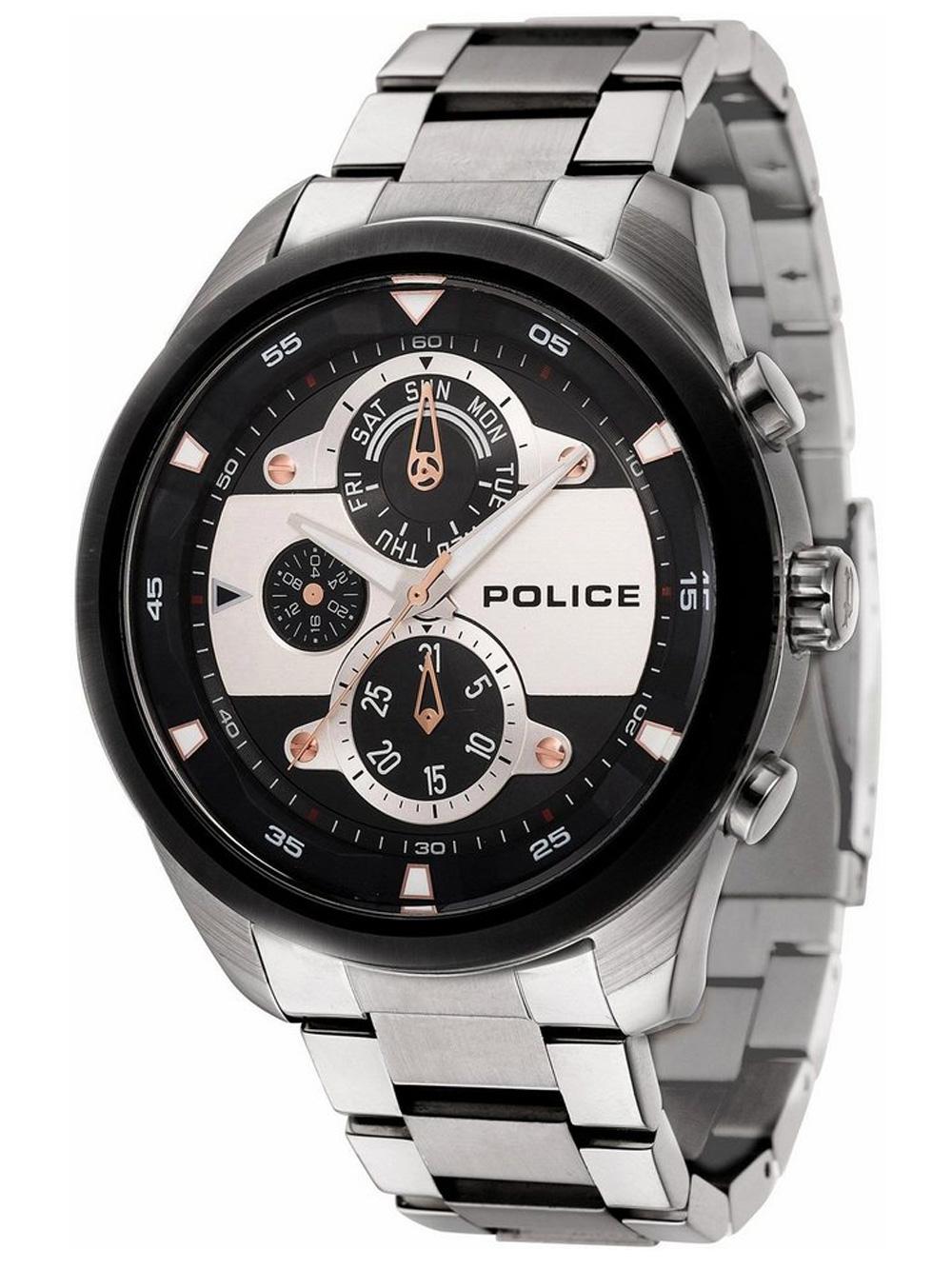 Police PL14836JSTB.02M Marine Herren 50mm 5ATM