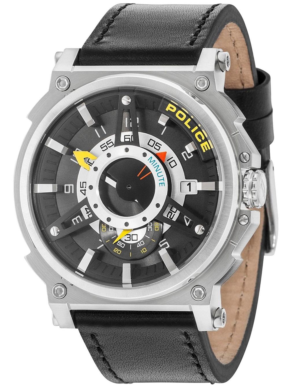 PL15048JS.61 Compass Herrenuhr 50mm 5ATM