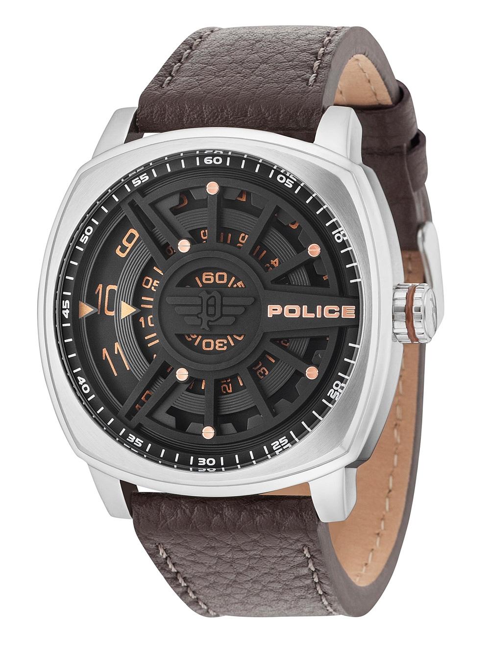 Police PL15239JS/02 Speed Head Herren 50mm 5ATM