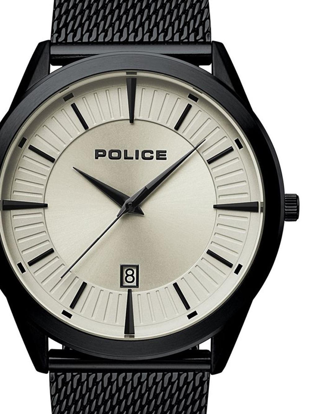 Police PL15305JSB.79MM Partiot Herren 45mm 5ATM
