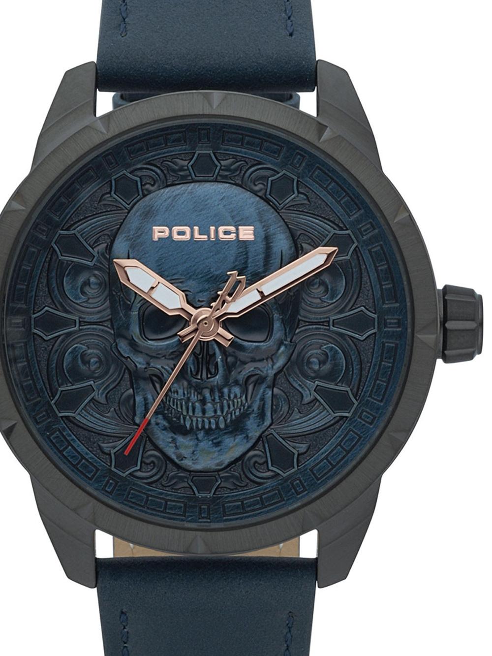 Police PL15397JSU.80 Mystic Herren 46mm 5ATM