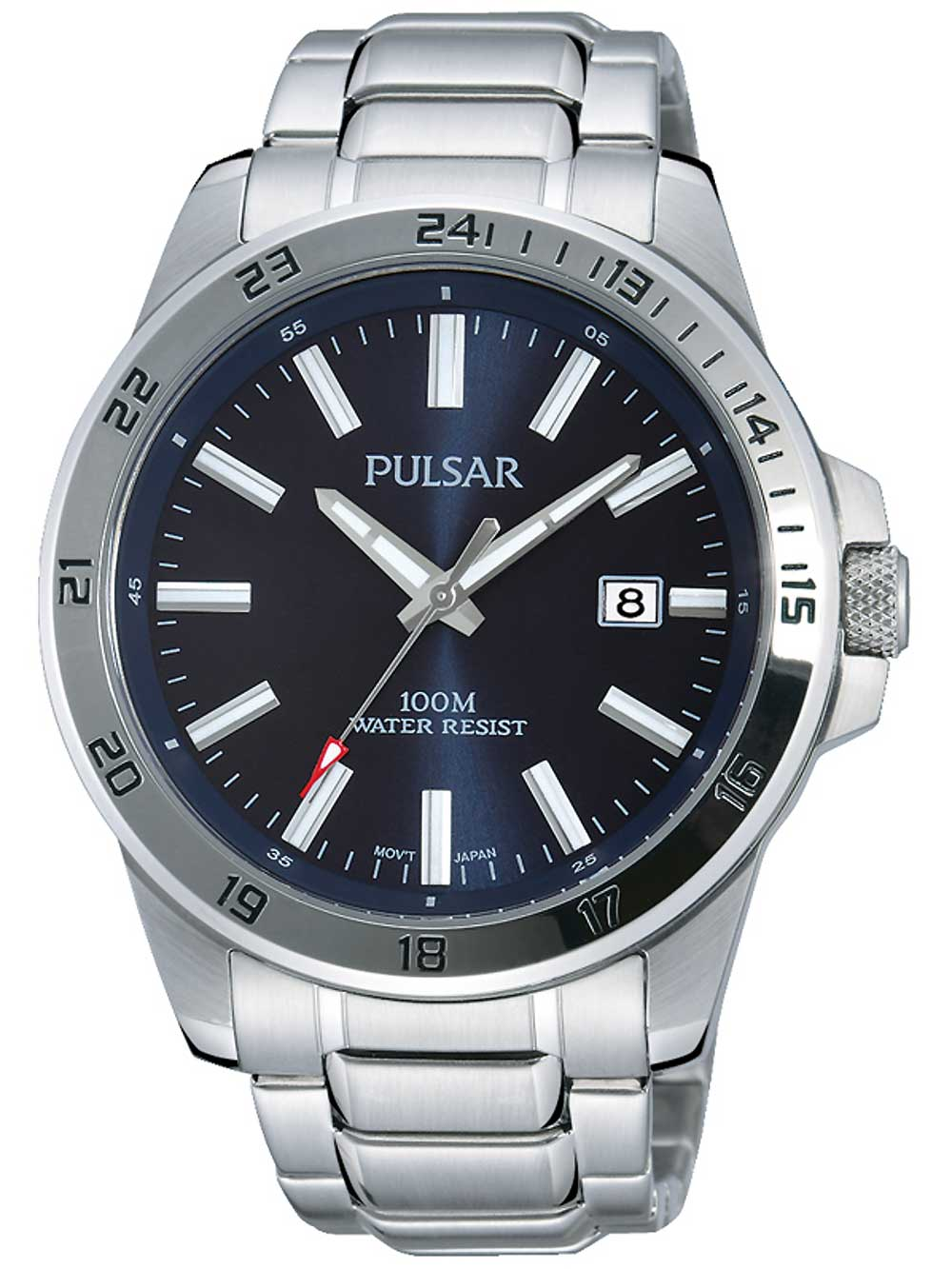 Pulsar PS9331X1 Herrenuhr 43mm 10ATM
